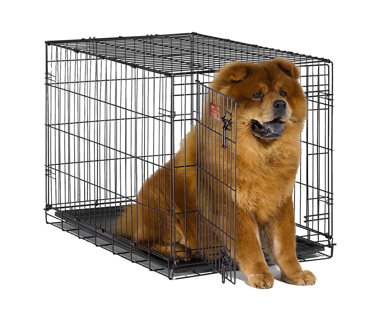 Металлическая клетка для собак