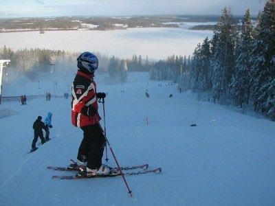 Горные лыжи начального уровня
