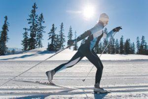 Лыжи для классического стиля